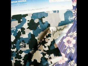 1000D nylon cordura khả năng chịu nước ngụy trang vải