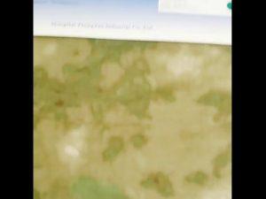 1000D nylon oxford khả năng chịu nước ngụy trang PU tráng vải