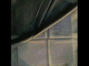 160gsm polyester sợi dọc đan lưới lưới vải cho vest quân sự