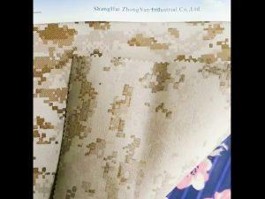 930D ngụy trang không thấm nước in PU tráng nylon oxford vải