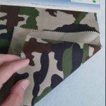 Ngụy trang mẫu 80/20 bông vải chéo go vải polyester cho đồng phục quân đội