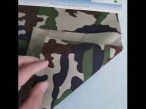 Mô hình ngụy trang 8020 bông vải chéo go vải polyester cho đồng phục quân đội