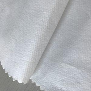 WF1/O6SO5 SS+PE 65gsm Polypropylene non woven fabric +PE for disposable protective clothing fabric for medical
