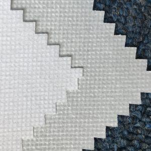 WF2 / O6SO5 SS + PE 75gsm Polypropylene vải không dệt + PE cho vải quần áo bảo hộ dùng một lần cho y tế