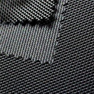 1680D twill jacquard polyester oxford vải với PU tráng dệt cho túi