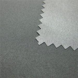 100% Polyester Pongee tráng ngoài trời không thấm nước xuống áo vải