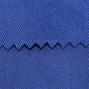 tc polyester bông đồng bằng và twill hoạt động nhuộm và in kỹ thuật số chống cháy bảo hộ lao động vải poplin vải đồng phục