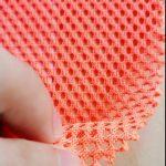 Polyester tricot dọc dệt kim lưới quân sự ba lô túi vải