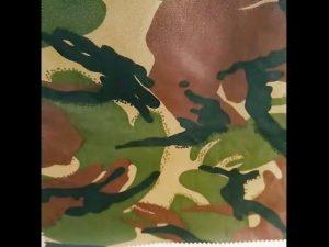 Ngụy trang in không thấm nước ripstop nylon oxford đồng phục quân sự vải