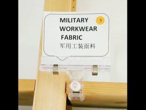 Đặt người đàn ông phụ kiện ngụy trang kỹ thuật số vải cho áo khoác quân sự
